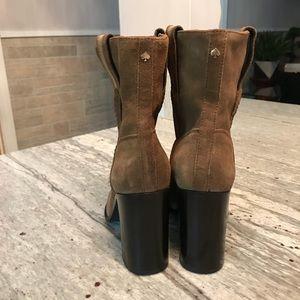 "98a402f8bc80 kate spade Shoes - NWT Kate Spade Vero Cuoio ""Baise"" Suede Boots"